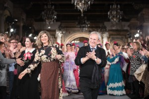 Pepe Jiménez, durante el desfile. / Foto: We Love Flamenco.