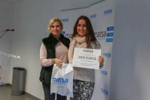 María Molina es otra de las beneficiarias de la beca.