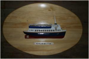 """La célebre canoa """"Chimbito"""" durante muchos años """"anclada"""" en tierra…"""