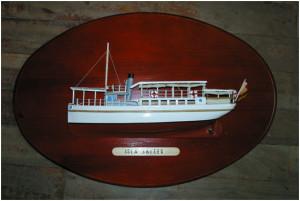 Una de las primeras canoas Huelva-Punta Umbría o viceversa, Isla Saltés.