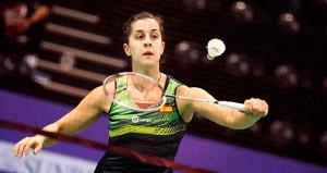 Carolina Marín ya está en la segunda ronda del Open de la India tras ganar en el inicio del torneo a la tailandesa Mattana Hemrachatanun. / Foto: Badminton Photo.