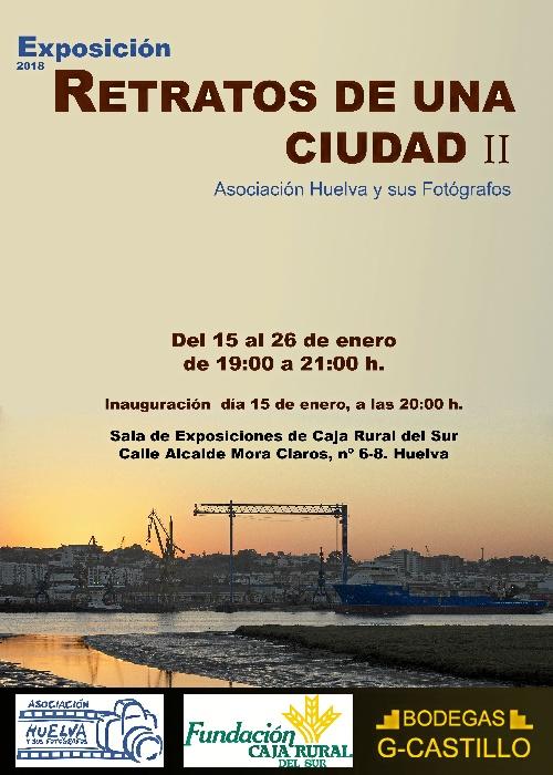 'Huelva y sus fotógrafos' presenta la muestra 'Retratos de una ciudad II' con onubenses que contribuyen al desarrollo de Huelva