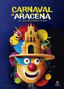 Cartel del Carnaval de Aracena 2018.