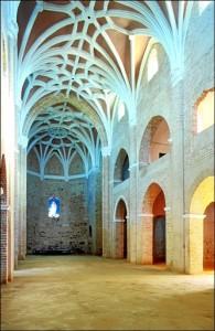 Interior de la Iglesia del Convento de la Luz. / Foto: IAPH (Francisco Javier Romero).
