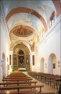 Interior del Convento de La Merced de Ayamonte. / Foto: IAPH (Francisco Javier Romero).