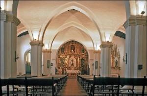 Interior del convento aracenense. / Foto: IAPH (Francisco Javier Romero).