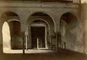Detalle de la portada de la iglesia del ex Convento de San Francisco en Ayamonte. / Foto: IPCE.