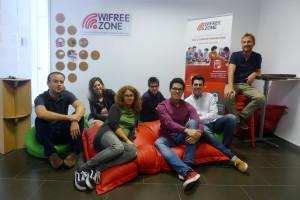 El actual equipo de WiFreeZone.