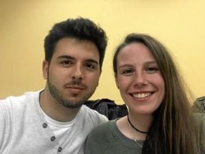 Pablo y Lidya, los protagonistas de la cinta.