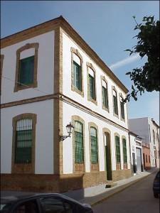El Convento de la Virgen de la Milagrosa de Nerva pertenecía a la Compañía Minera de Riotinto. / Foto: IAPH (Rafael Aguilera).
