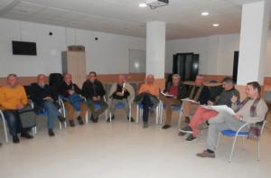 Reunión para avanzar en el programa de las Jornadas de Patrimonio de la Sierra .