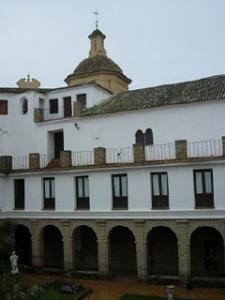 Imagen del interior del convento onubense. / Foto: huelva.es