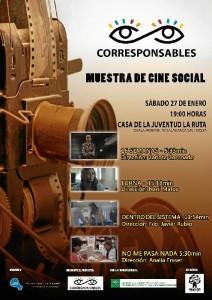 Cartel de la Muestra de Cine Social.