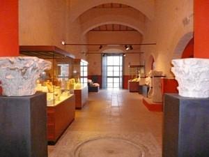 Interior de este antiguo convento de Aroche.