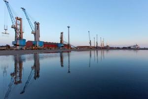 Puerto de Huelva.