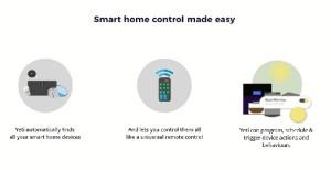 Yeti de Netbeast, una app que conecta y automatiza tu hogar.