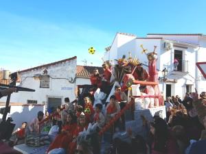 Imagen de la Cabalgata de Zalamea.