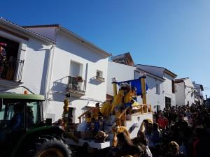 Otro momento del desfile.