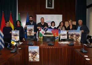 Presentación de la campaña 'Caravana por la Paz 2018'.