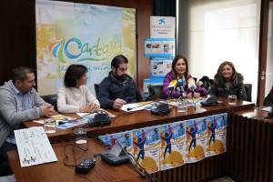 Presentación de la carrera solidaria contra el cáncer de Cartaya.