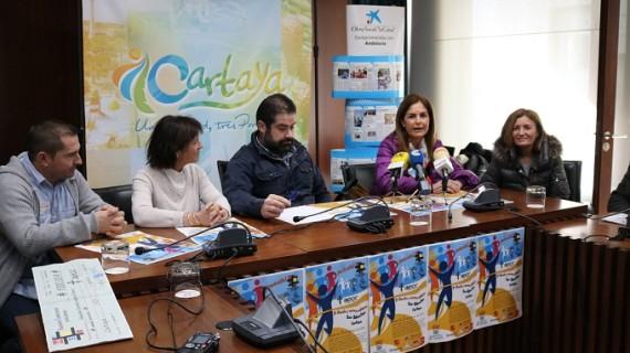 Cartaya marcha contra el cáncer en la Carrera solidaria de San Sebastián