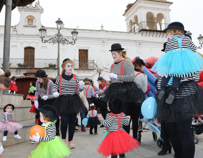 Los más pequeños abren el primer fin de semana del Carnaval de calle de Cartaya
