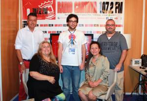 Equipo de Radio Cartaya.