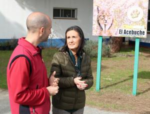 La subdelegada del Gobierno ha visitado el Centro de Cría de lince ibérico en Doñana.