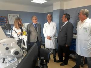 El Hospital Infanta Elena ha completado el proceso de traslado de la Unidad de Oftalmología.