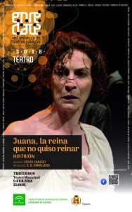 Cartel de la nueva temporada teatral de Trigueros.