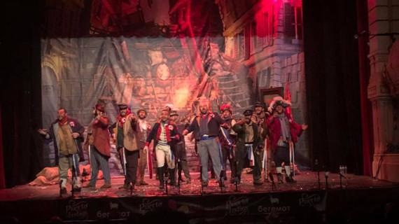El Gran Teatro disfruta de una enorme final del XXXV Concurso de Agrupaciones del Carnaval Colombino