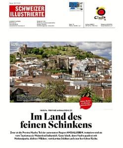 Reportaje publicado por una de las principales revistas suizas especializada en turismo.