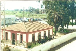 Sector de Las Metas, junto a la línea de ferrocarriles. Marzo de 2001.