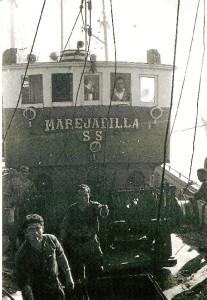 'Marejadilla', barco de la flota onubense de pesca.