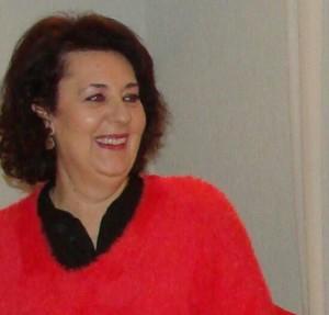 La escritora Rosario Santana.
