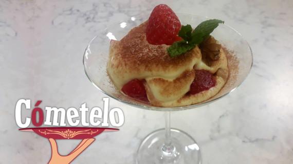 La fresa de Lepe, protagonista de la receta del martes en 'Cómetelo' de Canal Sur