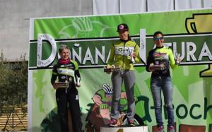 Ana Sánchez fue la vencedora en féminas. / Foto: andaluciaciclismo.com.