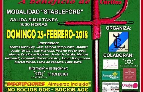 El V Torneo Benéfico Taurogolf se celebrará el 25 de febrero