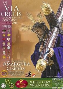 Cartel del Via Crucis Nazareno.