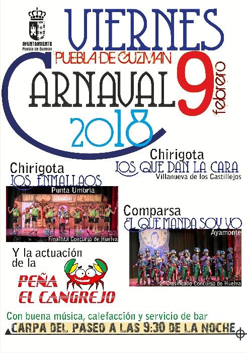Carnaval 2018 Agrupaciones