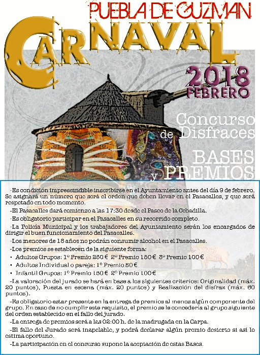 Carnaval 2018 Premios