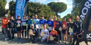 Ganadores de la prueba ciclista celebrada en La Redondela.
