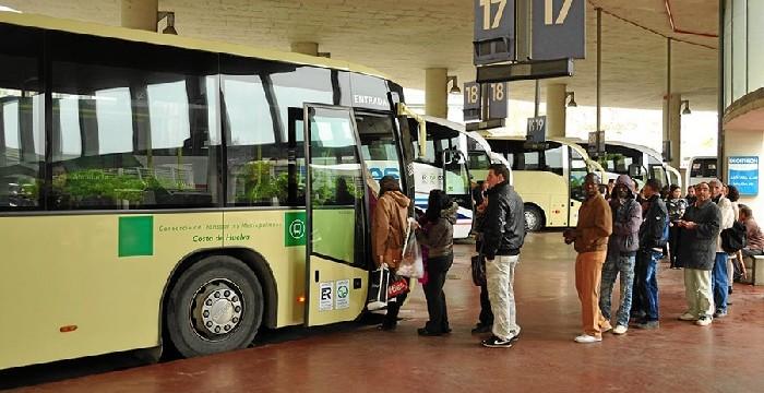 Los viajeros del Consorcio de Transporte de Huelva suben un 5,3% entre enero y junio