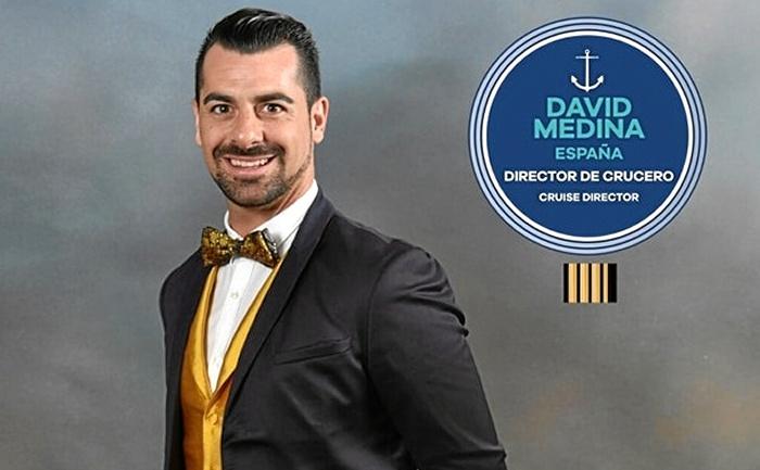 David Medina, de San Juan del Puerto a vivir conociendo el mundo a bordo de un crucero