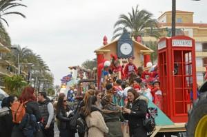 Punta Umbría celebra su cabalgata infantil del Carnaval de la Luz 2018.