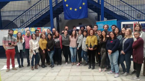 Jóvenes de una decena de países se forman en Huelva para realizar labores de voluntariado