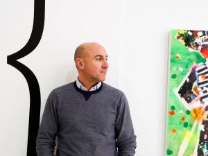 """Moguer está muy presente en su obra, porque asegura que """"le debo todo"""". / Foto: Sergio Cantos."""