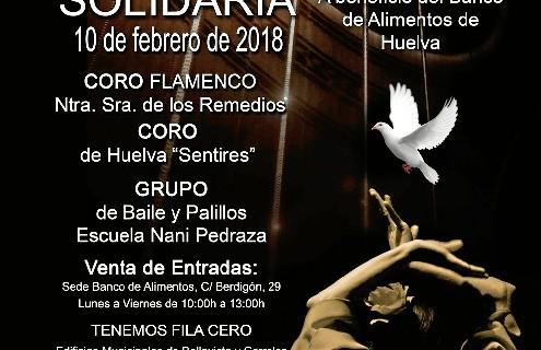 Gala Flamenca Solidaria en Corrales a beneficio del Banco de Alimentos de Huelva