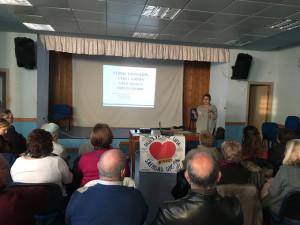 Asistentes al curso de formación de voluntarios de Huelvaporunasanidaddigna.