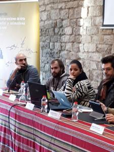 Mari Carmen Rafallo, del Ayuntamiento de Trigueros, ha participado en el seminario.